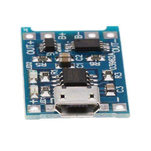 80%OFF Sharplace Module Chargeur Lithium Batterie 1A 1S 3.7V Li-ion 18650 2.6x 1.7cm
