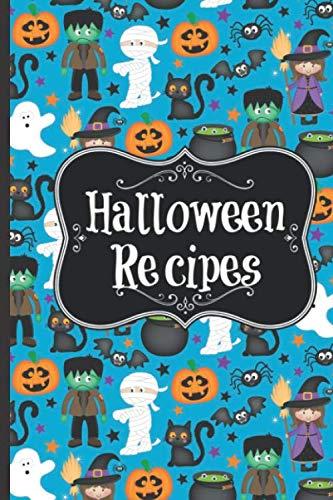 Halloween Vegetarian Recipes (Halloween Recipes: Blank Recipe book | Favorite Family)