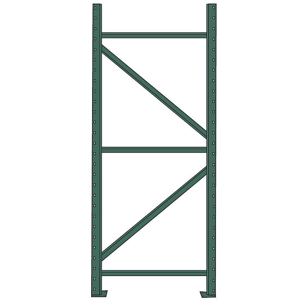 "Pallet Rack 12/' X 42/"" Upright Frame"