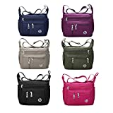 Fabuxry Purses and Shoulder Handbags for Women Crossbody Bag Messenger Bags