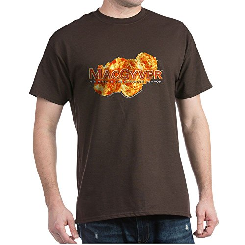 CafePress MacGyver Logo - 100% Cotton T-Shirt
