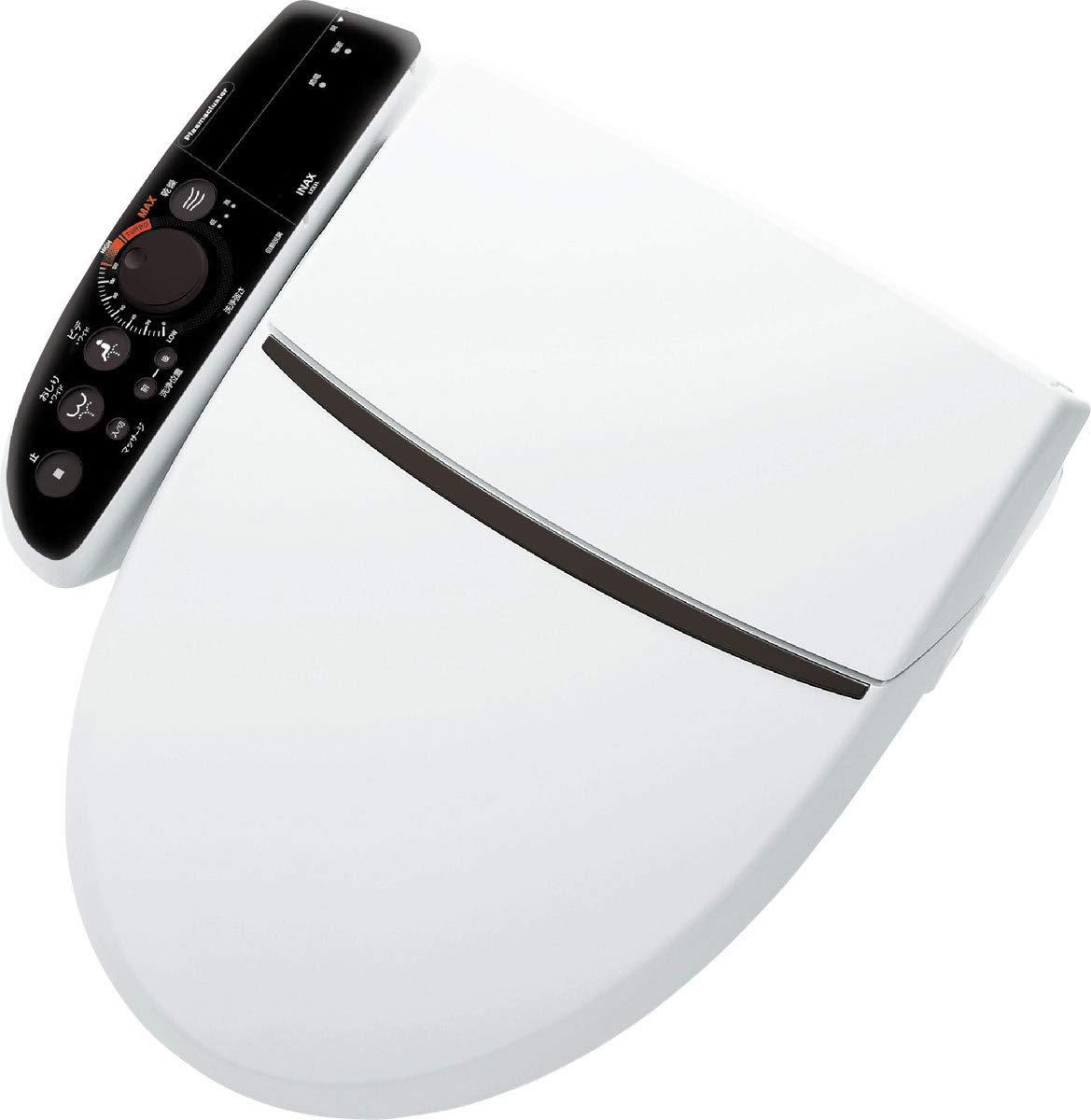 【CW-K45AQC】+【CWA-9】(壁リモコン) INAXLIXIL シャワートイレ Kシリーズエクストラ 大型共用便座 K45A 便器洗浄操作:フルオートリモコン式/アメージュシリーズ便器用 カラー:BN8(オフホワイト) B07JZFRBW3 BW1(ピュアホワイト)  BW1(ピュアホワイト)