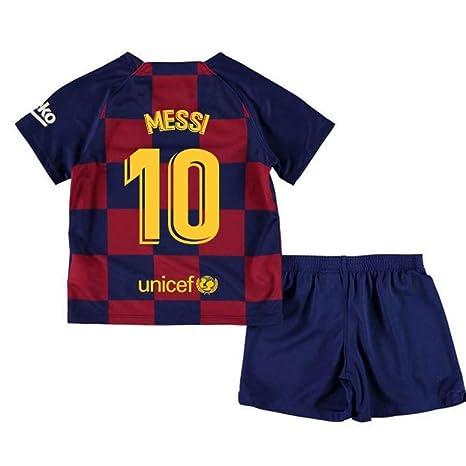 designer fashion 7cedb 7aebe UKSoccershop 2019-2020 Barcelona Home Nike Little Boys Mini ...