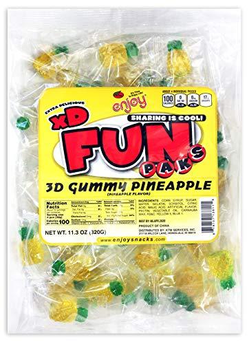 (Enjoy Hawaii Gummy Pineapple Flavored Candy)