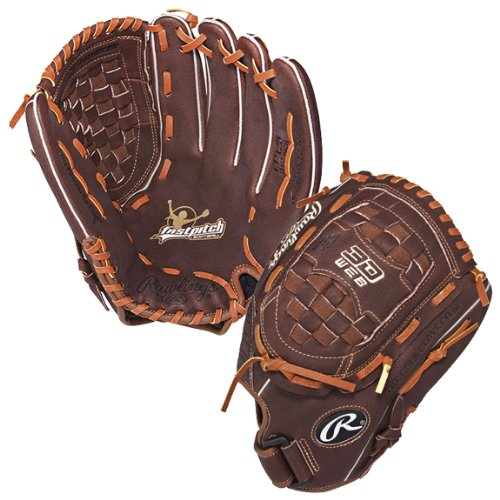 Rawlings Fastpitch Series 12.5-inch Outfield Fastpitch Glove, Left-Hand Throw (Rawlings Fastpitch Gloves)