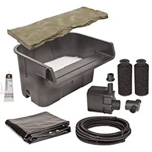 Beckett Corporation Waterfall Kit With Pump