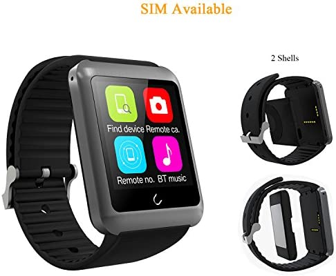 Reloj inteligente, willful Sw018 Bluetooth SmartWatch IP68 ...