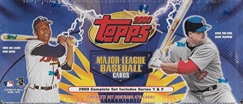 2000 Topps MLB Baseball Factory Sealed 478 Card Complete Mint ()