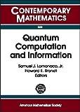 img - for Quantum Computation and Information: Ams Special Session Quantum Computation and Information, Washington, D.C., January 19-21, 2000 (Contemporary Mathematics) book / textbook / text book