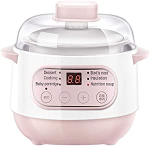 Crock Pots Slow Cookers, Slow Cooker Liner with Hinged Lid Oval Slow Cookers with Timers Anti-Stick and Easy Clean for Family Cooking Party