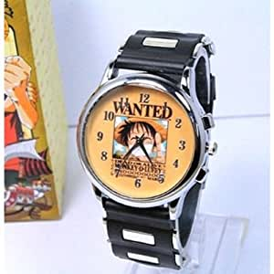 Cosplay Costume Anime Watch Wrist Watch with Cool Led One Piece LUFFY