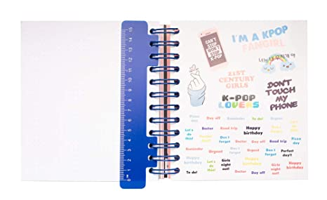 Agenda escolar 2019/2020 día página MK Pop