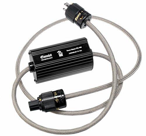 SAEC Camelot Technology社製 PM-900 フラックスパワーコンディショナー搭載 高品質電源ケーブル 1本 2.5m POWER-MASTER900-2.5 B002SE1HOY  2.5m