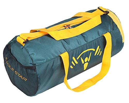 Polestar 18 Litros Mochila con cuerdas Resistente al Agua Deportes Viajes Gimnasio barril Bolsas Verde