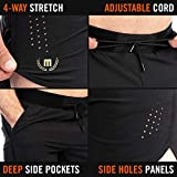 Mava Men's Shorts with Pocket and Loose Fit