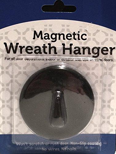 Magnetic Seasonal Wreath Hanger for Steel Doors - Up to ()