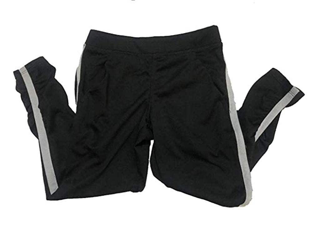 Champion C9 Girls Ruched Active Pants with Pockets X-Small 4-5 Black Heather -