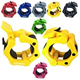 Greententljs Olympic Barbell Clamps Quick Release