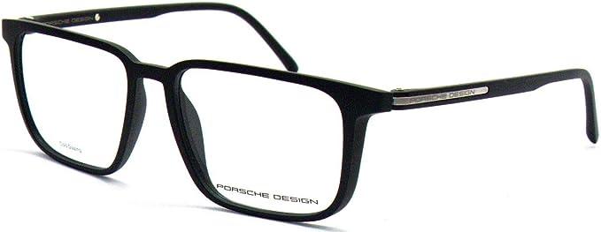 Porsche Design Brille P 8298 A Acetate Kunststoff Schwarz Matt Gun Metall Amazon De Bekleidung