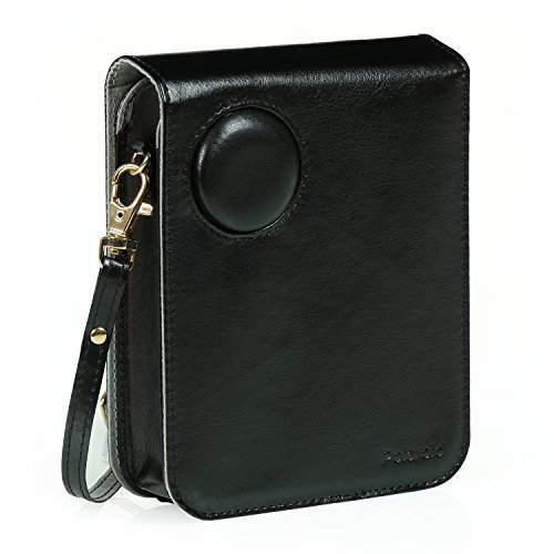 Polaroid Leatherette Case (Black) POP Instant Print Digital Camera – The Most Stylish & Authentic Way to Protect Your POP