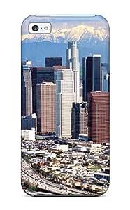 Fashion WaRFUgL2492iDIlH Case Cover For Iphone 5c(los Angeles City )