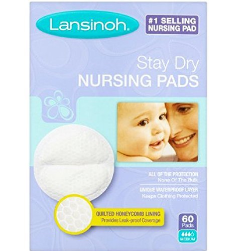 Lansinoh Nursing Pads Stay Dry 60 Each ( Pack of 10 )