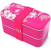Monbento 3760192683173 MB Original Bento Lunch Box, Coral Floral