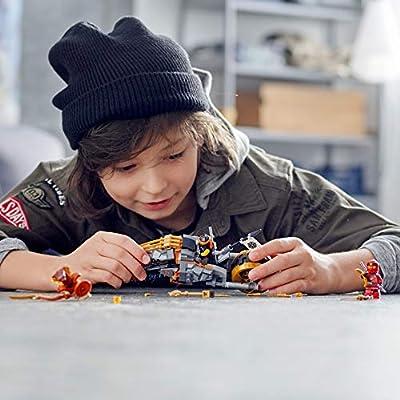 LEGO NINJAGO Cole's Dirt Bike 70672 Building Kit (212 Pieces): Toys & Games