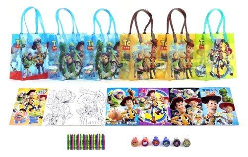 Disney Toy Story Party Favor Set - 6 Packs (42 Pcs) -