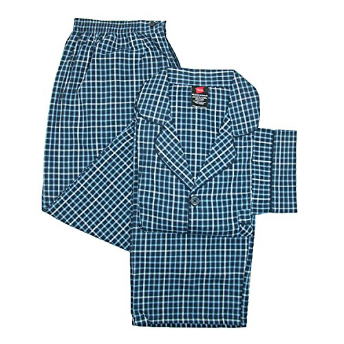 Hanes Men's Print Broadcloth Pajamas