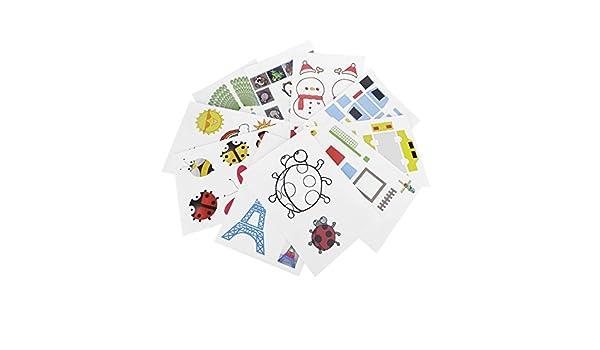 3d impresora dibujo papel, tarjetas de diseño creativo y artes ...