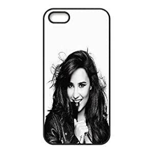 Character Clear Phone Case Demi Lovato For iPhone 5, 5S NC1Q03145