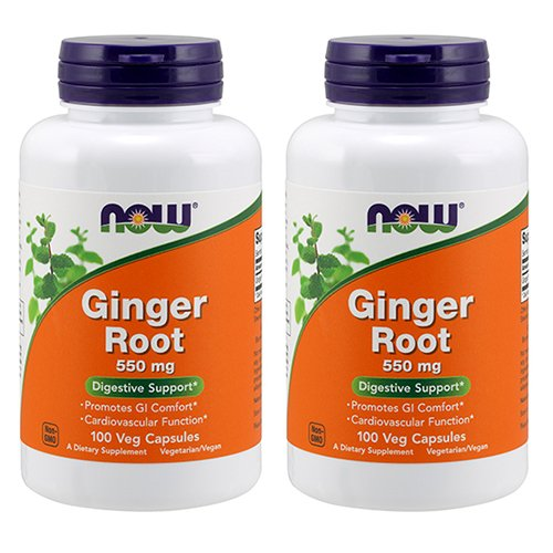 Ginger Root 550mg 100 Capsules (Pack of - Caps 550 50 Mg