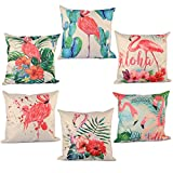 6Pack Throw Pillow Covers, YIFAN 6 Pieces Pillowcase Set Pillow...