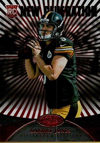 Football NFL 2013 Certified Platinum Red #255 Landry Jones Steelers by