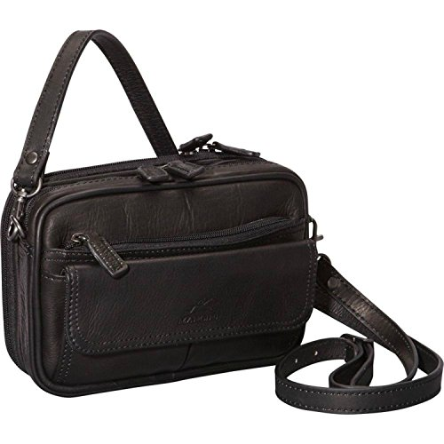 mancini-98205-colombian-compact-unisex-bag-black