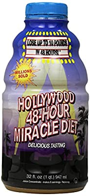 Hollywood 48-Hour Miracle Diet, 32-Ounce Bottles (Pack of 2)