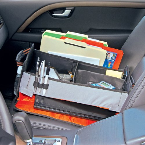 Highland 1954000 Front Seat Mobile Office En Route Organizer Door Back Organizers