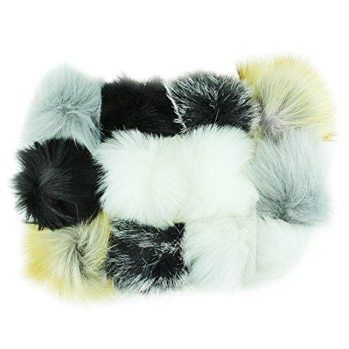 Fur Lined Shoe Bag - 5