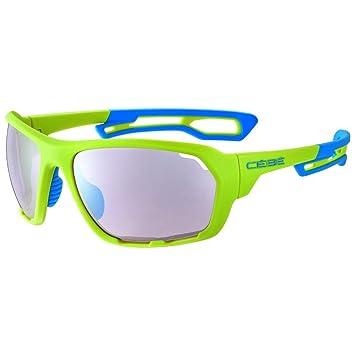 Cébé Upshift Gafas de Sol Adultos Unisex Matt Lime Blue ...