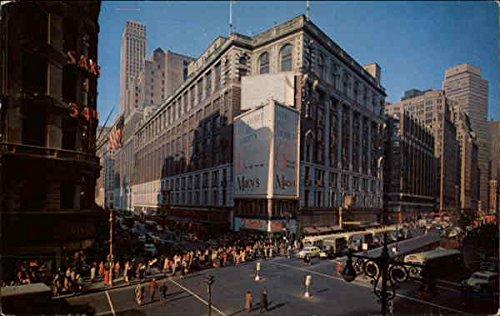 Herald Square New York, New York Original Vintage - Manhattan Herald Square