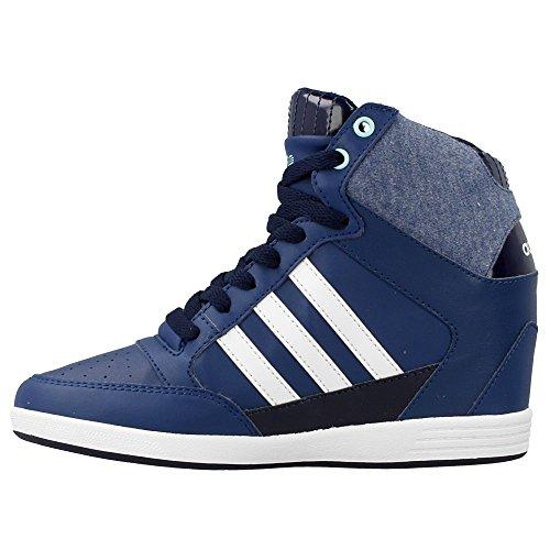 adidas Neo Super Wedge Sneakers Blu Scarpe Donna F98649  Amazon.it  Scarpe  e borse a52f2c23120