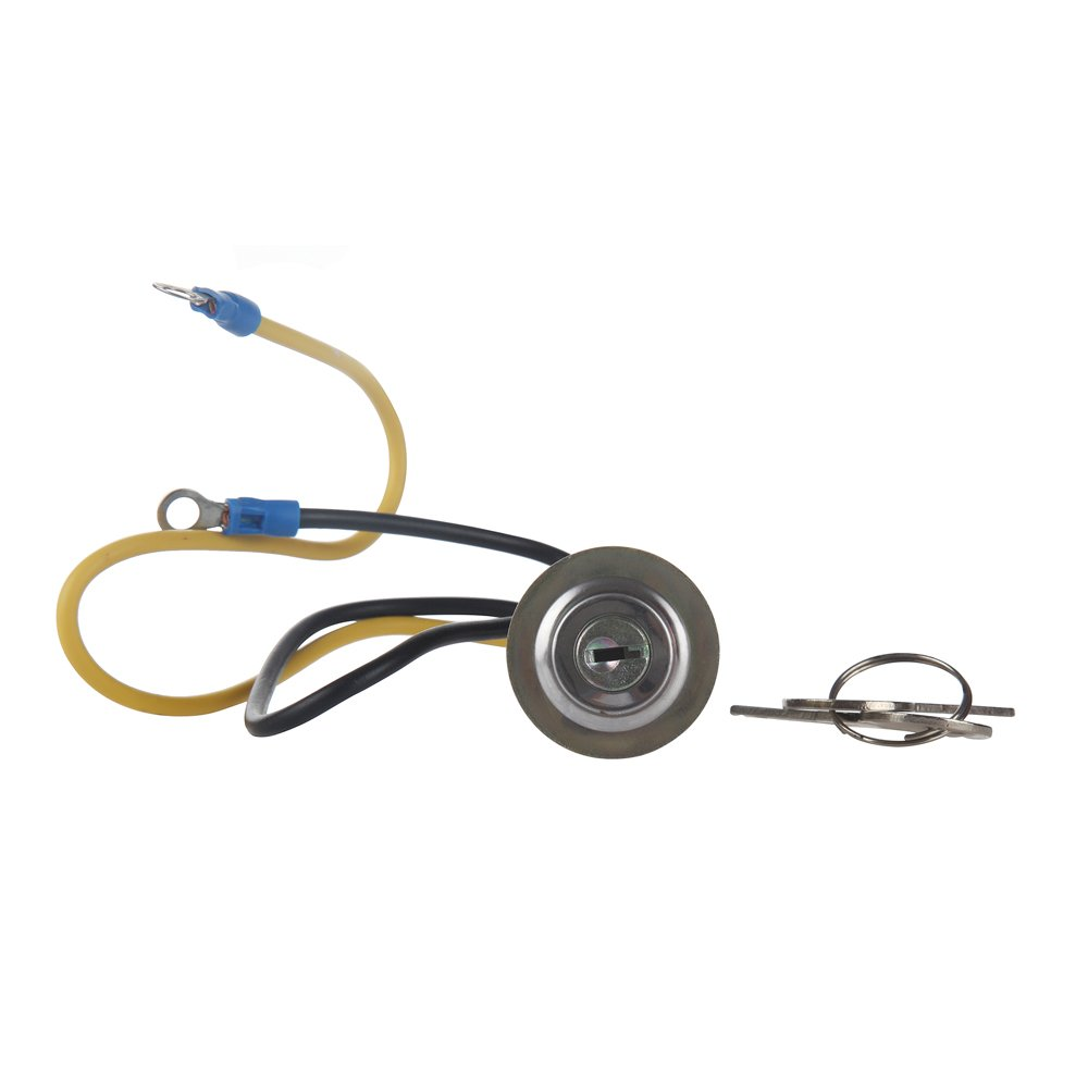 MIDIYA I8N3679C Ignition key Starter Switch With 2 Terminal Wire And 2 Keys Suitable for Ford 2N 8N 9N,Jubilee 501 600 601 700 701 800 801 900 2000 4000 1939-1964 other Universal Cars,Tractor,Trai