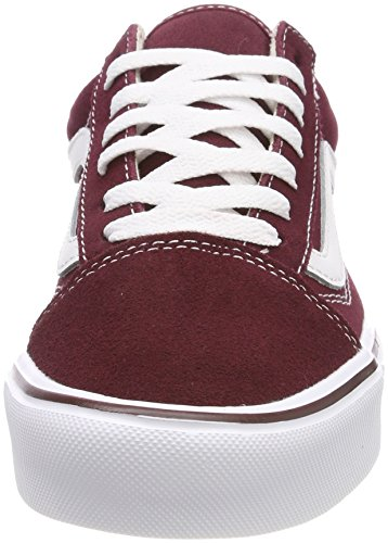 Lite miste adulti Skool per tela scamosciata Old rosse sneakers Vans qAP1w7Tx