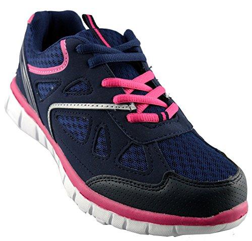 Zapatillas De Running Dek Mujeres Synthetic Leather Azul