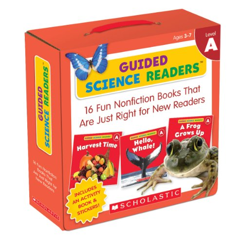 (Guided Science Readers Parent Pack: Level A: 16 Fun Nonfiction Books That Are Just Right for New Readers)