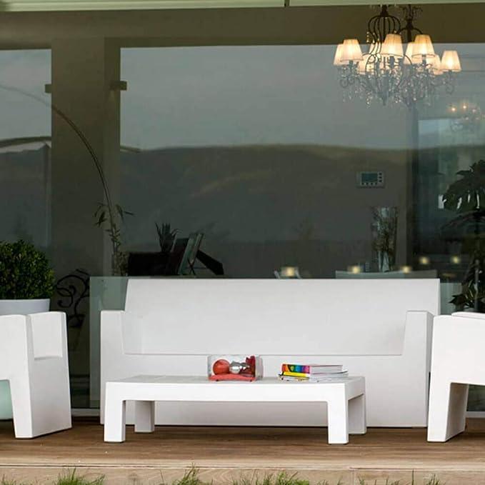 l'extérieur Basse pour écru canapé pour Jut Table Vondom NnOPwkX80Z