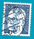 Used German Postage Stamp Scott 1033 %2D