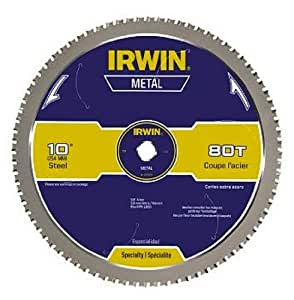 Irwin Tools Metal Cutting Circular Saw Blade 10 Inch 80t