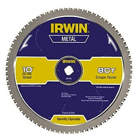 Irwin tools metal cutting circular saw blade 10 inch 80t irwin tools metal cutting circular saw blade 10 inch 80t 4935561 greentooth Image collections